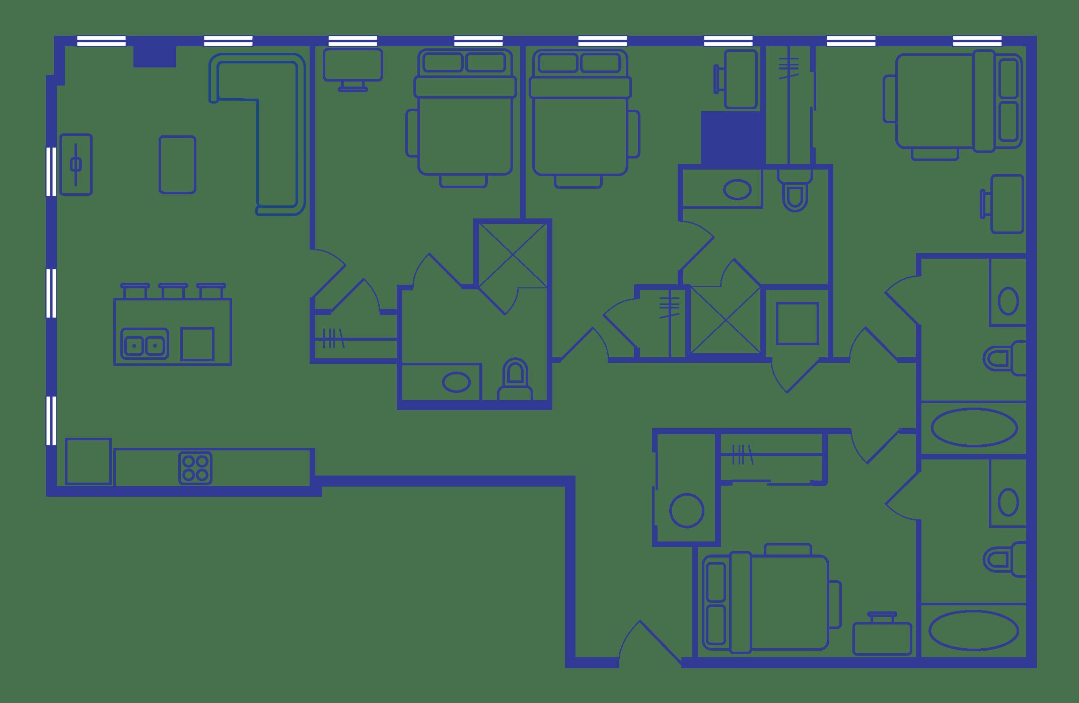 4 Bedroom Floorplan 3