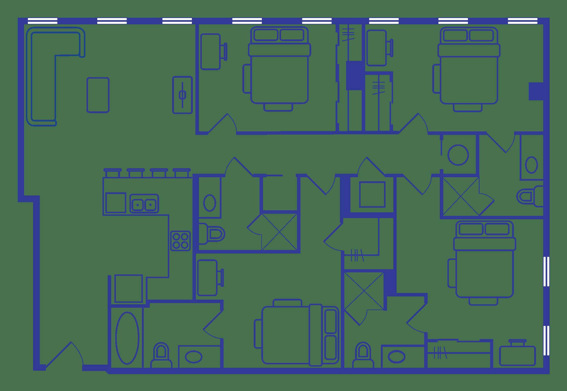 4 Bedroom Floorplan 4
